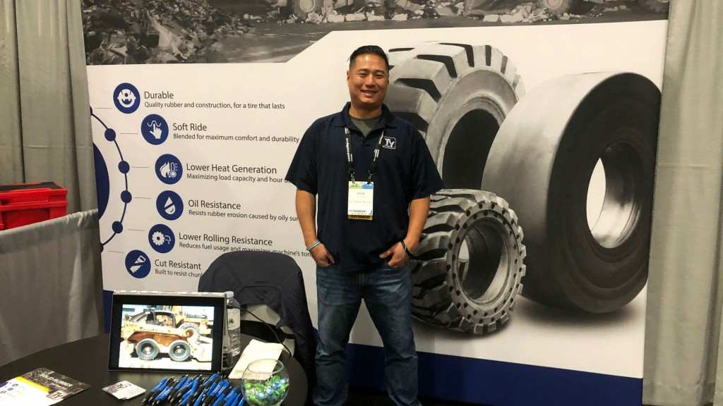 Jesse Chuang, TY Cushion Tire, one of RPN's longest running clients, and a good friend.