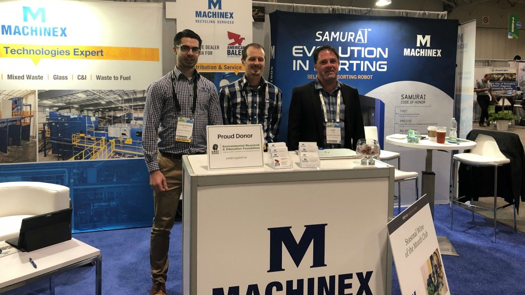 On the show floor with Machinex at CWRE 2019