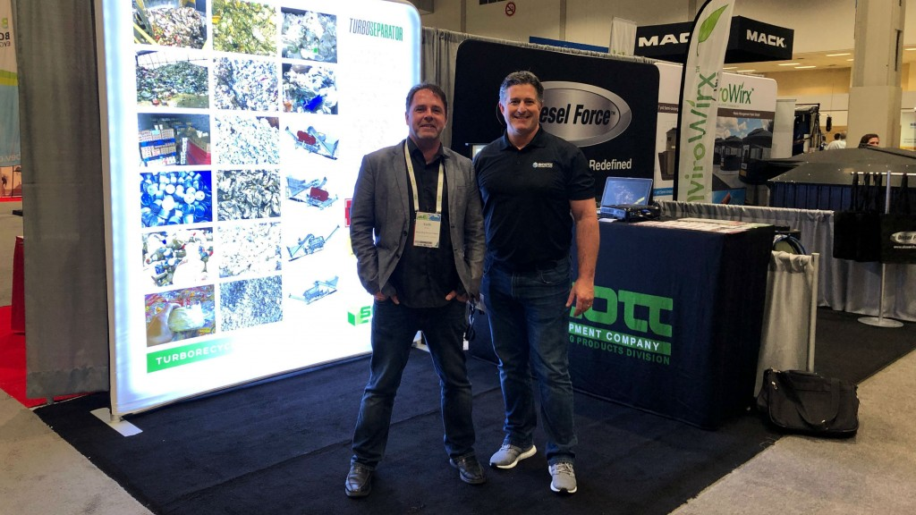 On the show floor with Scott Equipment at CWRE 2019