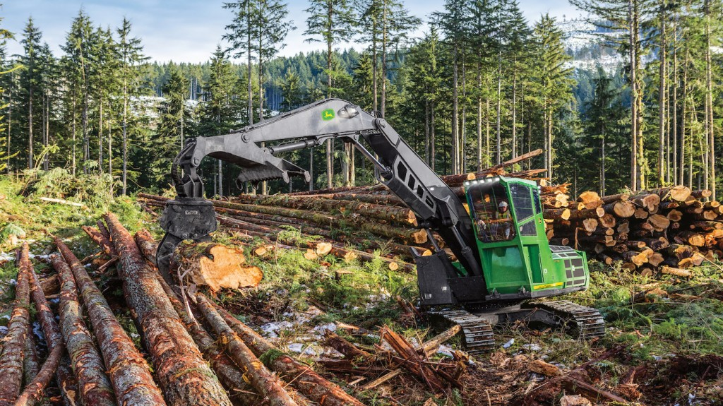 John Deere announces new forestry swing machine options