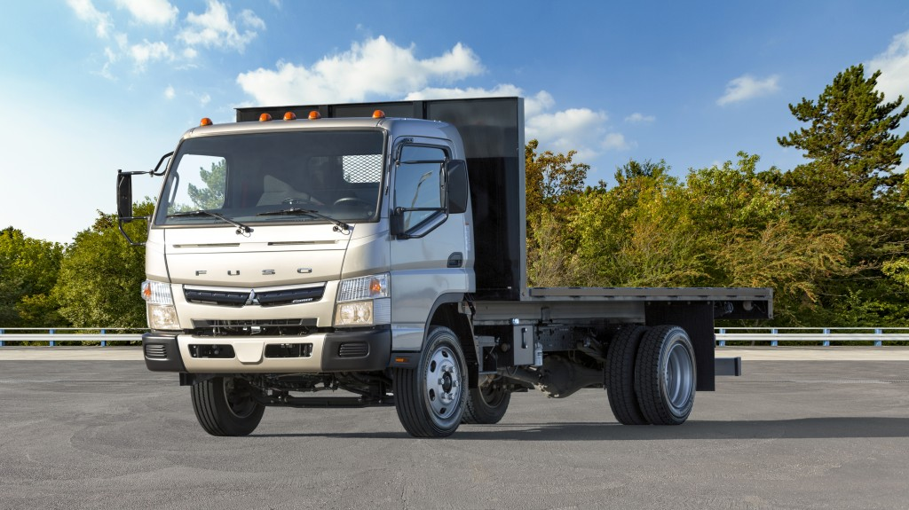 The FUSO FE180​ GAS, which offers 11,855-pounds in payload capacity, was first introduced at the NTEA Work Truck Show in March 2019, where the first prototype was unveiled.