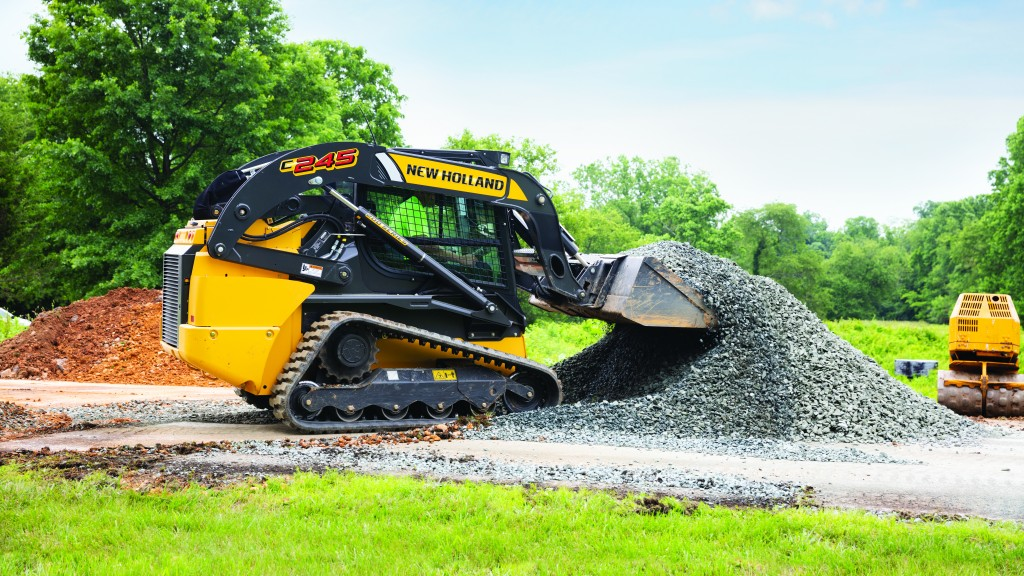 The C245 is the most powerful and largest compact track loader offered by New Holland.