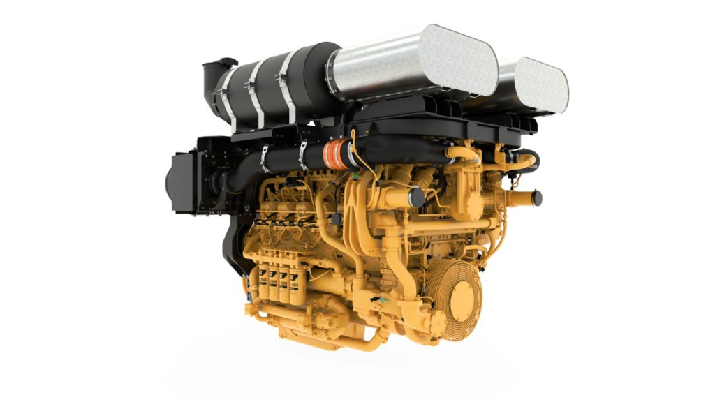 Cat 3512E Tier 4 Final with DGB well service engine scores award