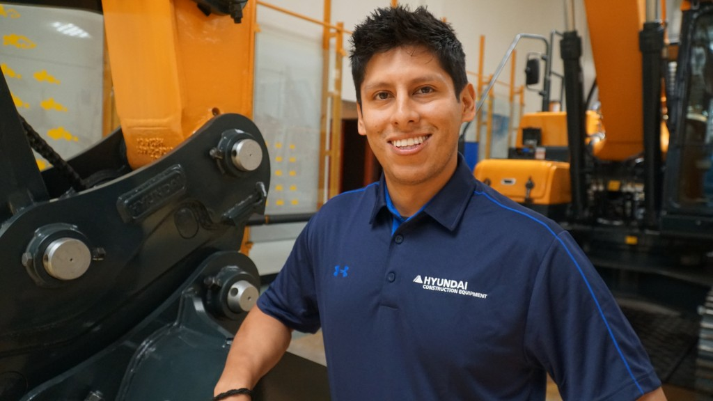 Tito comes to Hyundai Construction Equipment with more than six years of business, marketing, and sales experience in the industry.
