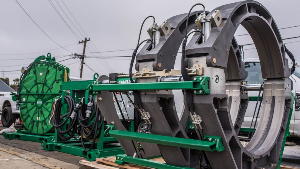 McElroy Manufacturing, Inc. - In-Ditch 1600 Pipe Fusion Machines