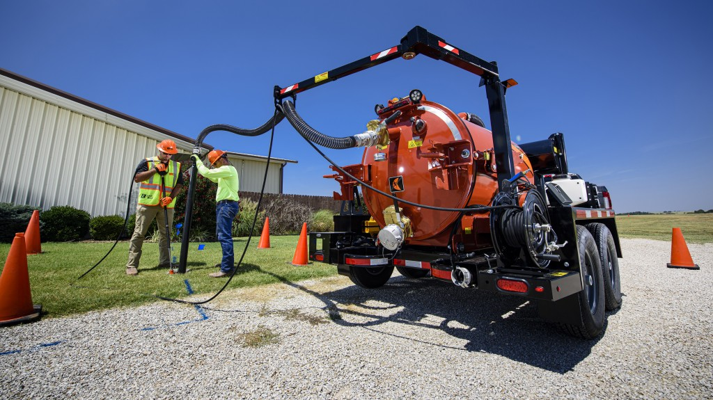 Low-profile Ditch Witch HX30G brings high power to vacuum excavation