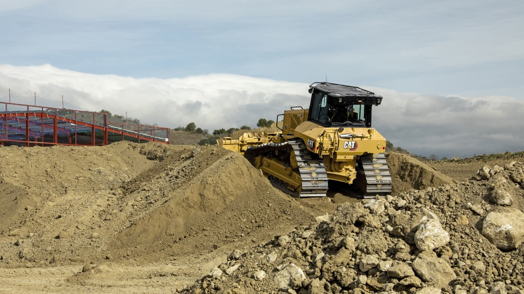 The update from D6N to D5 is part of an effort to make all Cat dozer model names simpler.