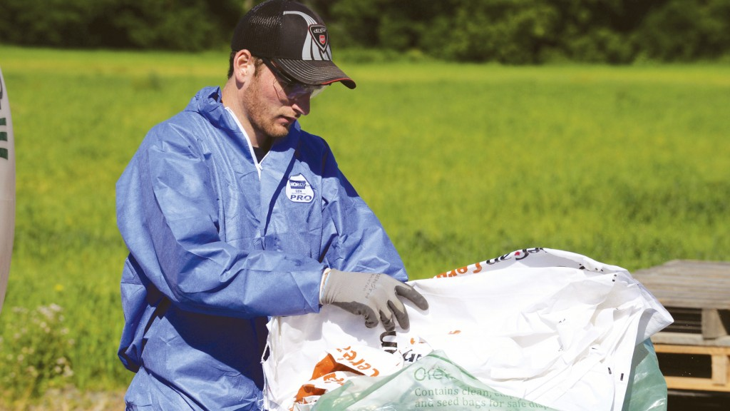 Cleanfarms has ag-plastic waste in the bag