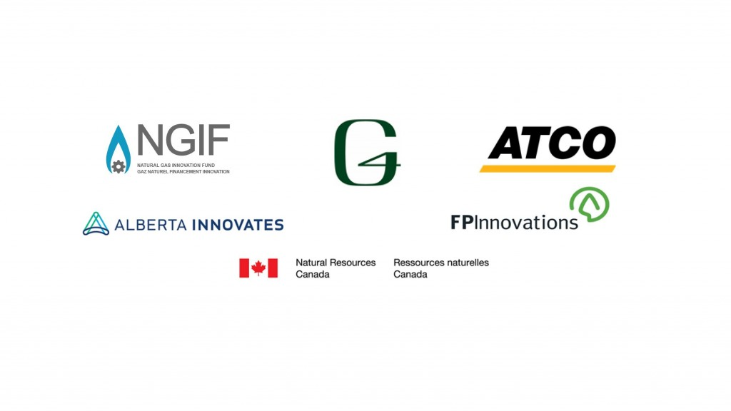 The federal-provincial-industry consortium includes Natural Resources Canada (NRCan), the Natural Gas Innovation Fund (NGIF), Alberta Innovates (AI), ATCO and FPInnovations, who have collectively invested a total of $2.8 million in grants and in-kind, for the testing and demonstration of G4 Insights' PyroCatalytic Hydrogenation (PCH) technology.