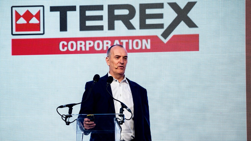 Terex Corporation (NYSE: TEX) today announced third quarter 2019 net sales of $1.0 billion, down 6.8% versus the third quarter of 2018.