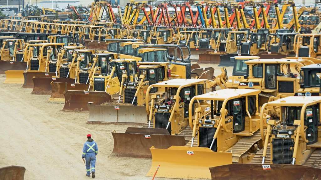 More than $101 million of equipment sold in Ritchie Bros. October Edmonton auction