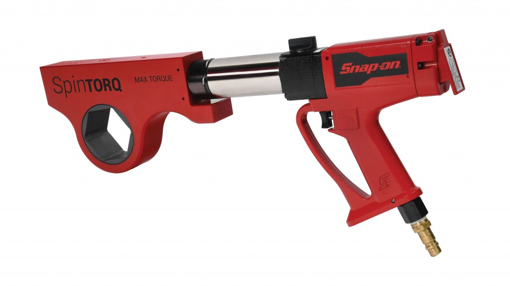 The SpinTORQ Continuous Rotation Torque Wrench from Snap-on is the only continuously spinning, low profile torque wrench on the market and is 80 percent faster than ratcheting hydraulic wrenches. SpinTORQ is a good example of Snap-on's commitment to product innovation in torque products for the oil and gas industries.