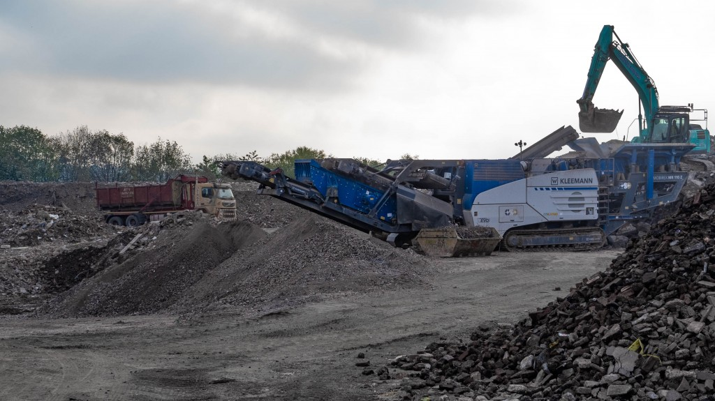 Kleemann impact crusher mr 110 z evo2