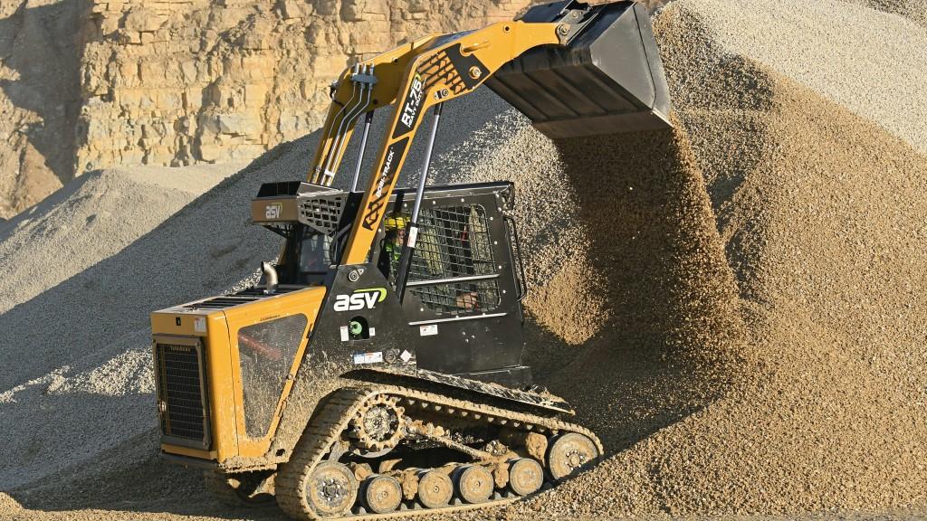 ASV holdings Posi-Track® loaders