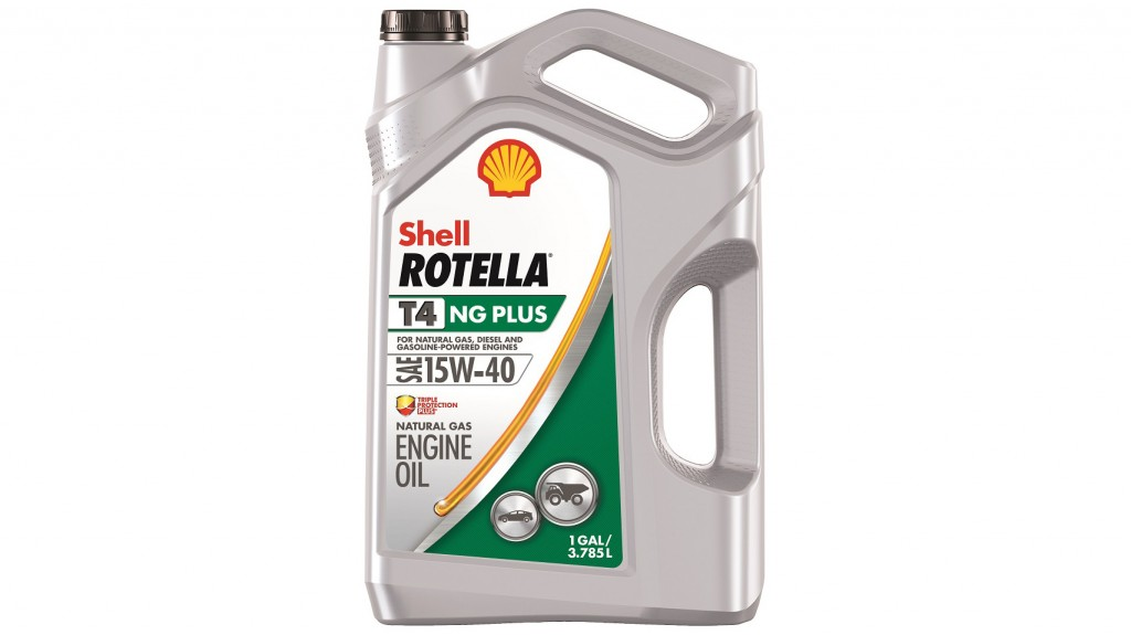 Shell Rotella® T4 NG Plus 15W-40 heavy-duty engine oil