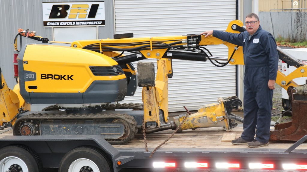 Brokk 300 demolition robot