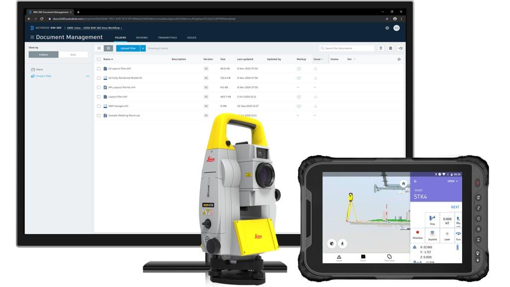 Autodesk BIM 360 Layout App