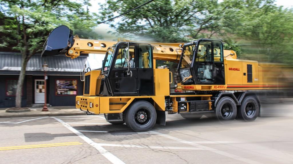 Gradall xl-4100 V hydraulic excavator
