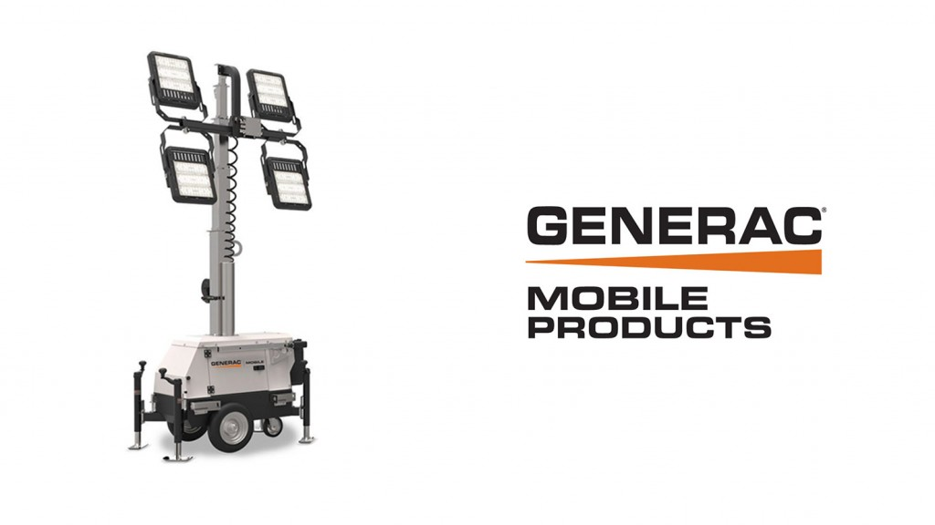 generac mobile logo and light tower