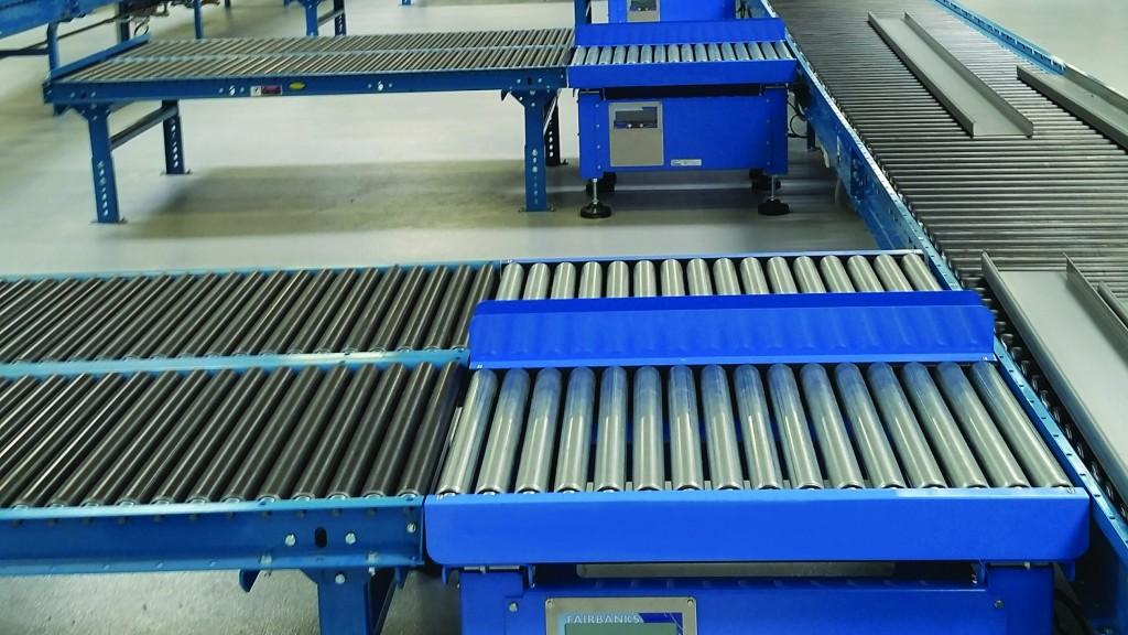 Fairbanks Roller Conveyor Scale