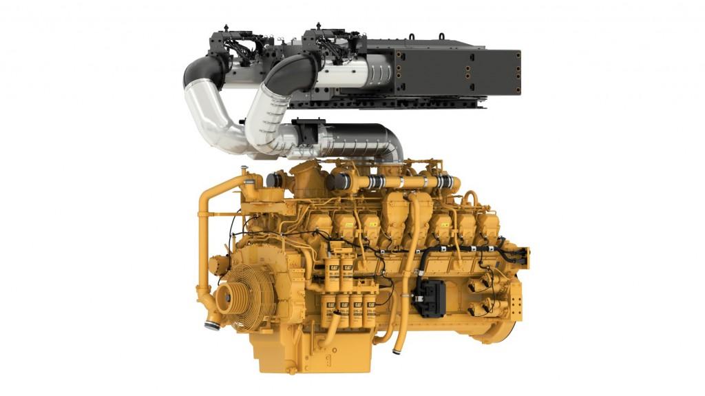 Cat® 3516E engine