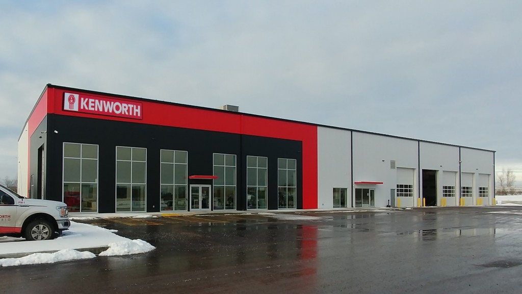 kenworth ontario facility