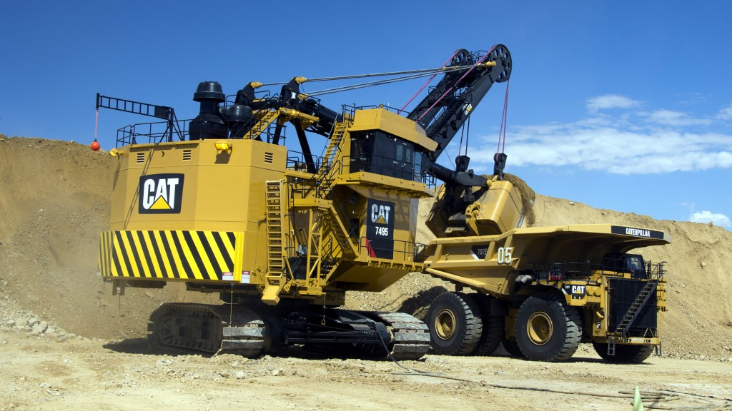 Updated AC electric drive system boosts reliability and safety of Cat® 7495 and 7495 HF Electric Rope Shovels