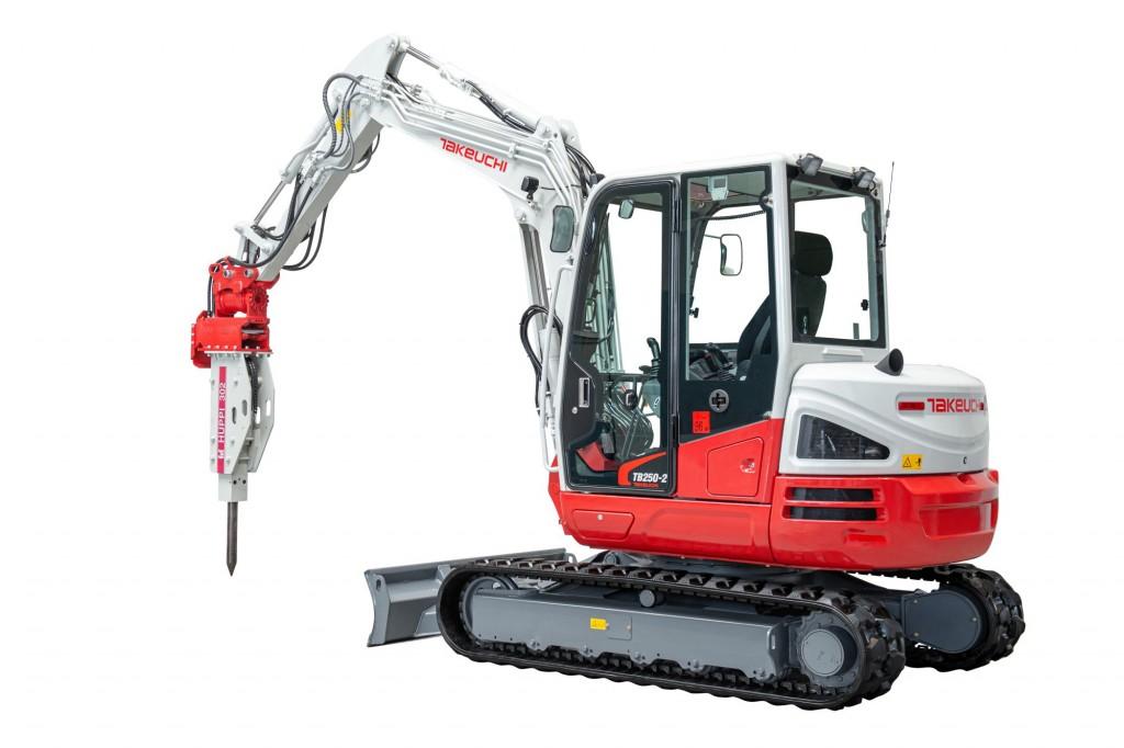 Takeuchi - TB250-2 Compact Excavators