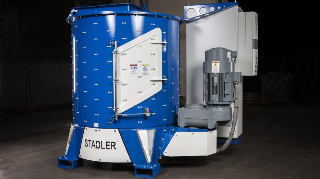 STADLER Delabeler bottle sorting system