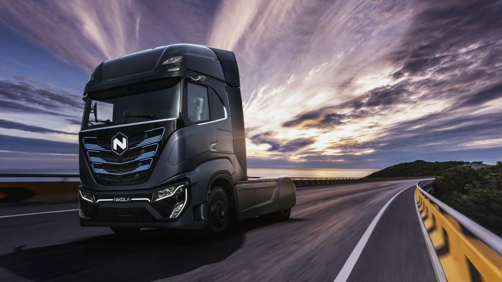 Nikola heavy-duty truck