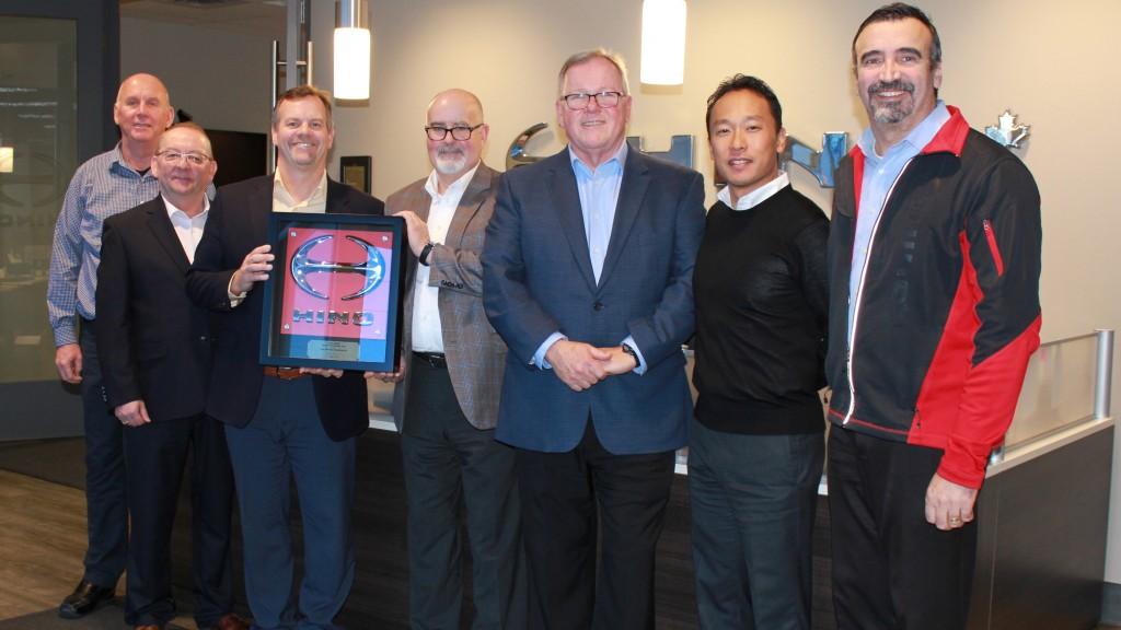 Hino Dealer of the year award recipients