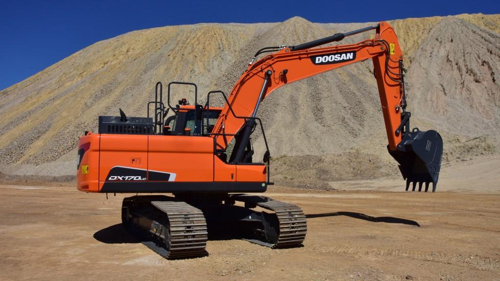 Doosan DX170LC-5 crawler excavator