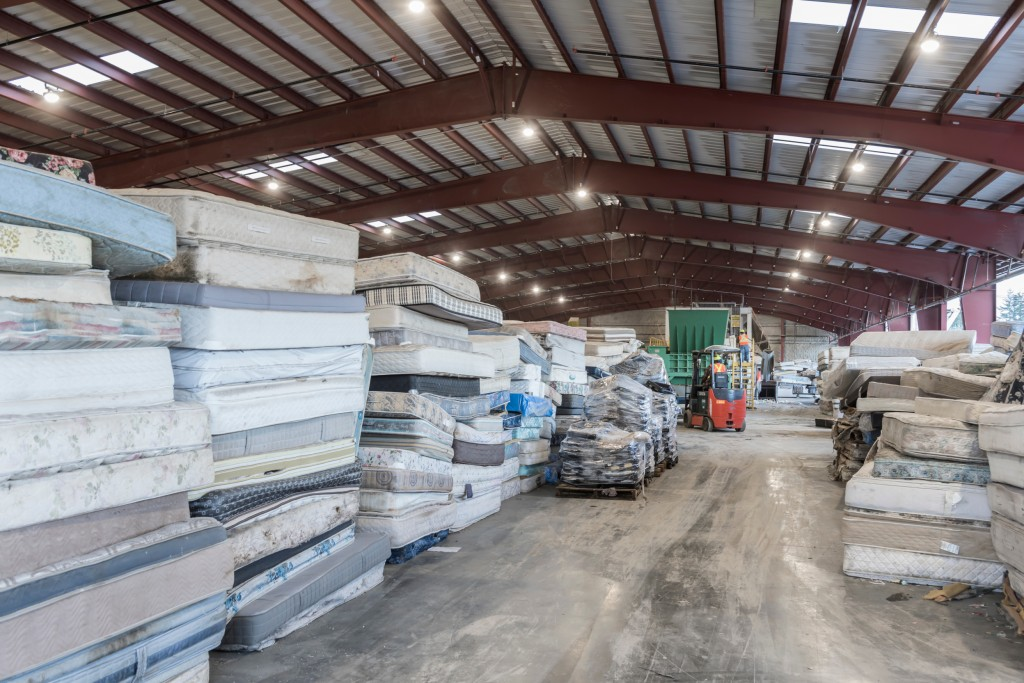 Inside Pacific Mattress Recycling in B.C. 