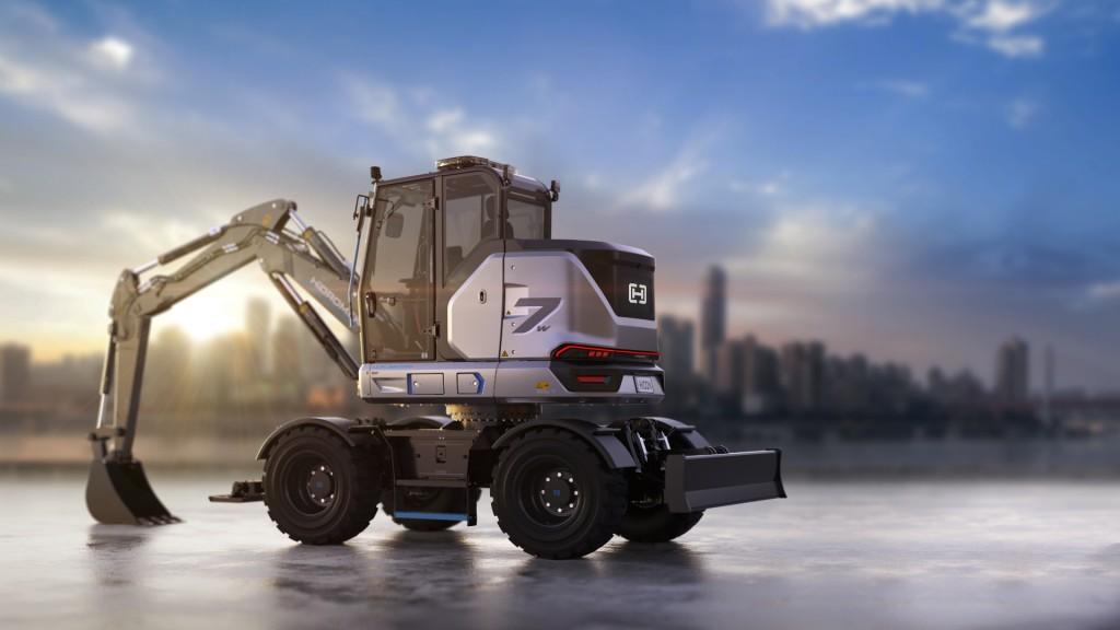 HICON 7W Electric urban excavator