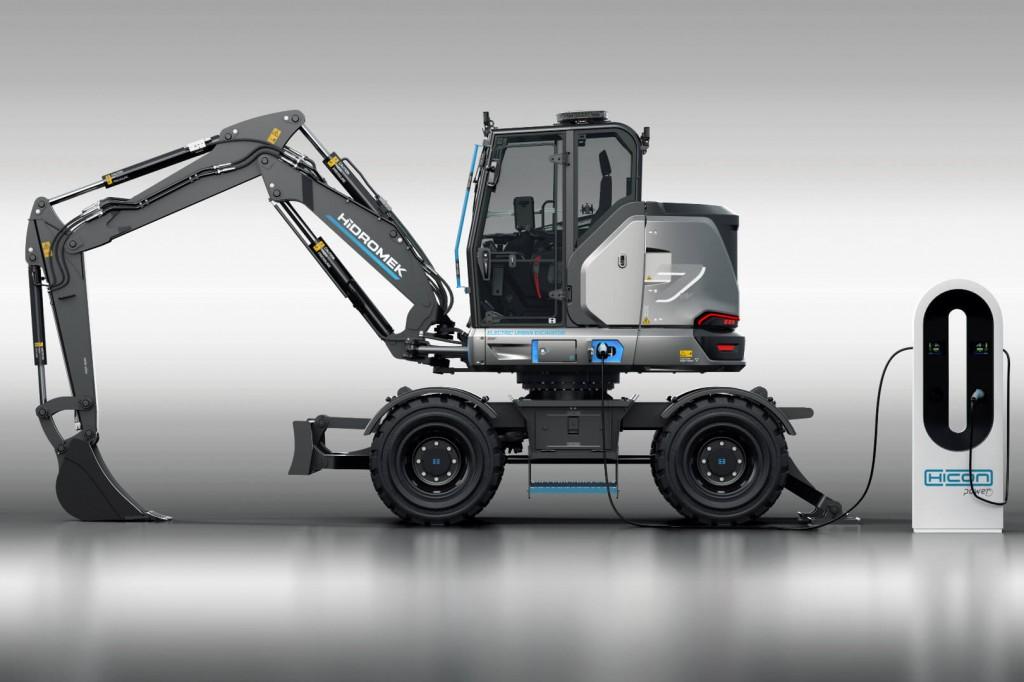 HİDROMEK - HICON 7W Excavators