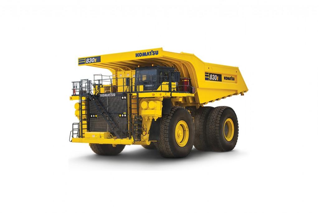 Komatsu America Corp. - 830E-5 Mining Trucks