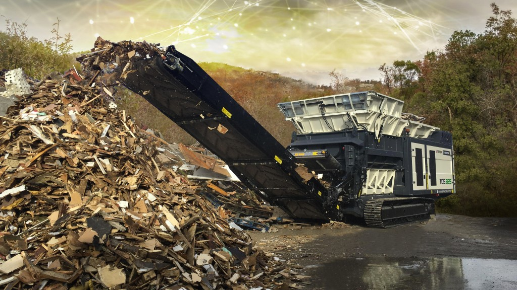 terex ecotec TDS 825 slow speed shredder