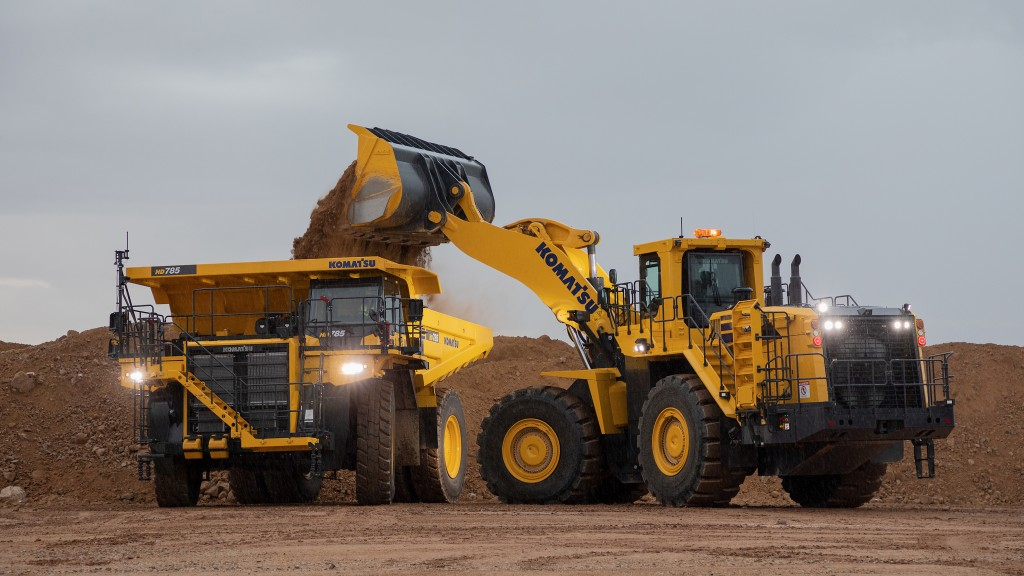High-horsepower hauler from Komatsu offers maneuverability and performance