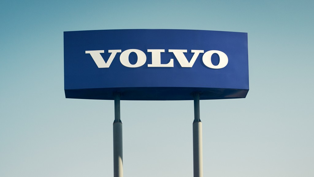 Volvo group sign