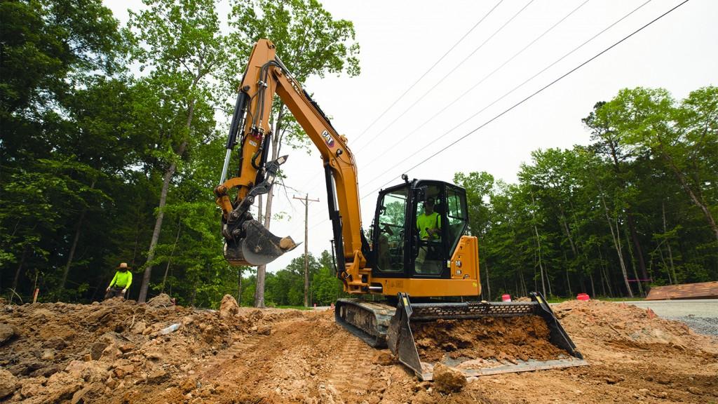 Caterpillar 306 CR XTC excavator