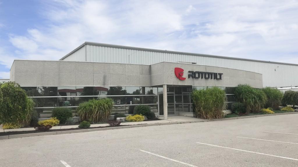 Rototilt inc. facility