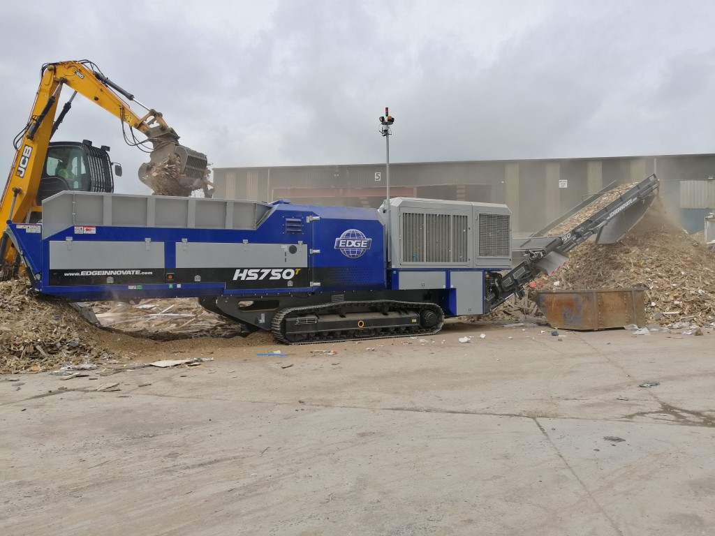 EDGE HS750 single-operator shredder set to launch at CONEXPO 2020