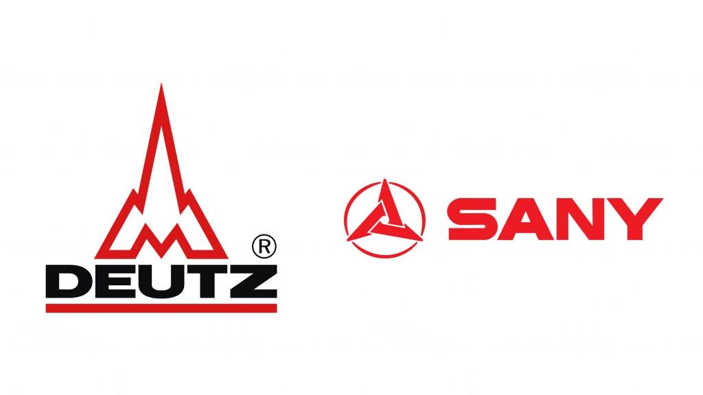 DEUTZ and SANY logo