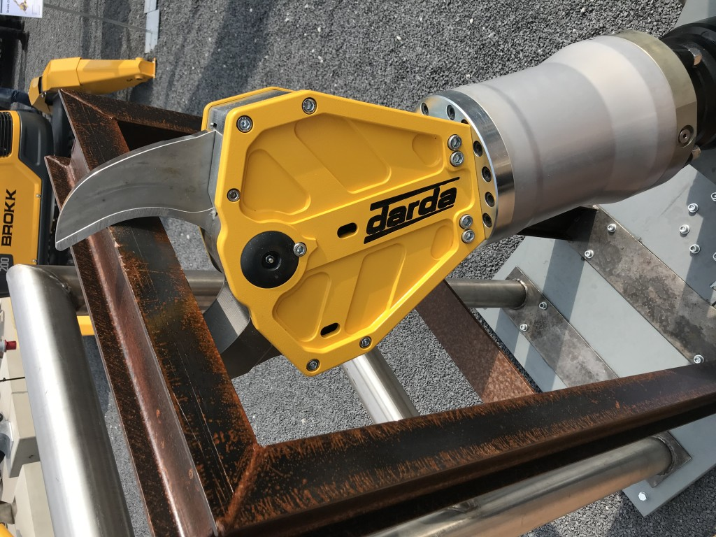 Brokk introduces low weight multi cutter with high cutting force