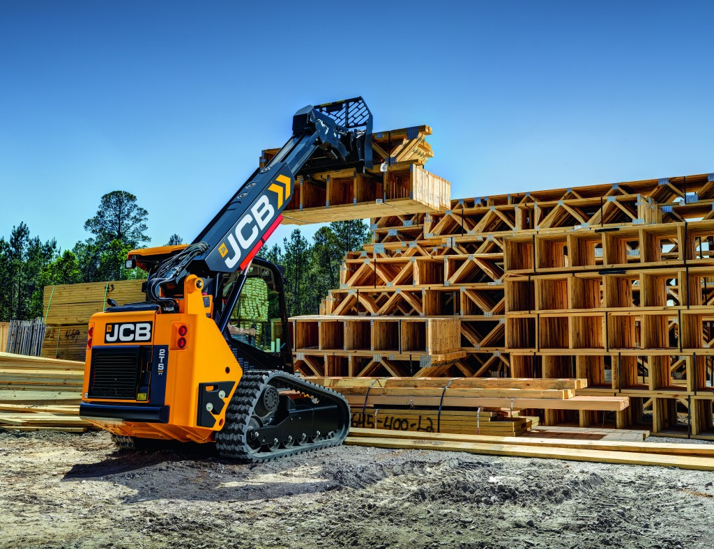 JCB releases its most compact Teleskid to date