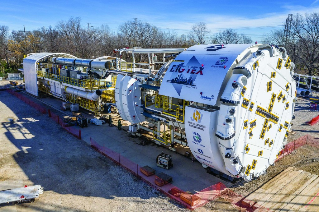 Largest hard rock TBM in the U.S. to dig tunnel designed to provide 100-year flood protection
