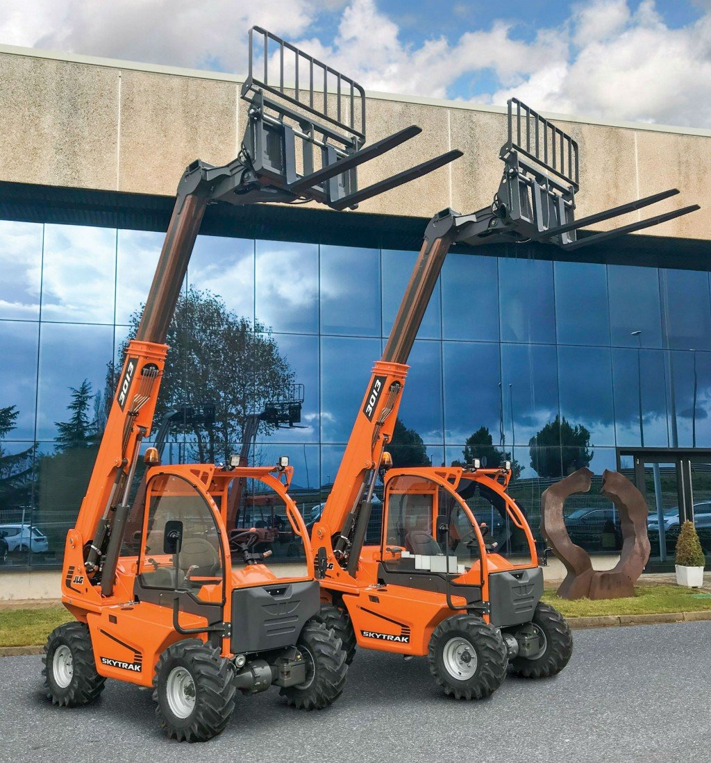 JLG Industries announce 10-year partnership with AUSA to build new ultracompact telehandler
