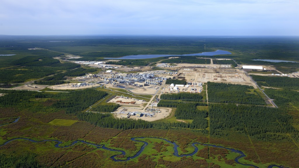 aerial view of Cenovus