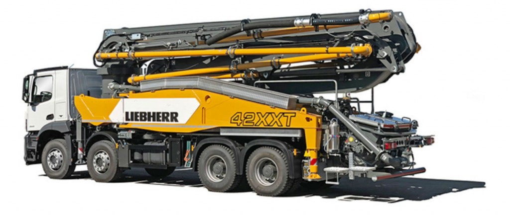 Liebherr to introduce concrete pump and hydraulic drive unit at World of Concrete