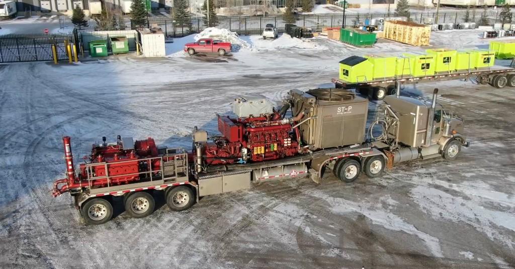 Gardner Denver field trials new Thunder 5000 HP Quintuplex pump